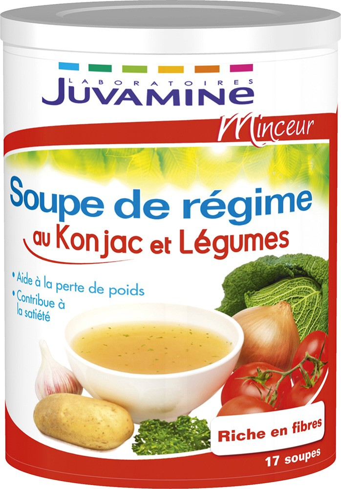 prix de juvamine minceur soupe de r gime au konjac et l gumes 340g. Black Bedroom Furniture Sets. Home Design Ideas