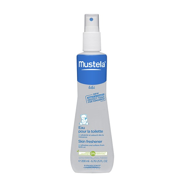 prix d 39 eau pour la toilette spray 200 ml mustela. Black Bedroom Furniture Sets. Home Design Ideas