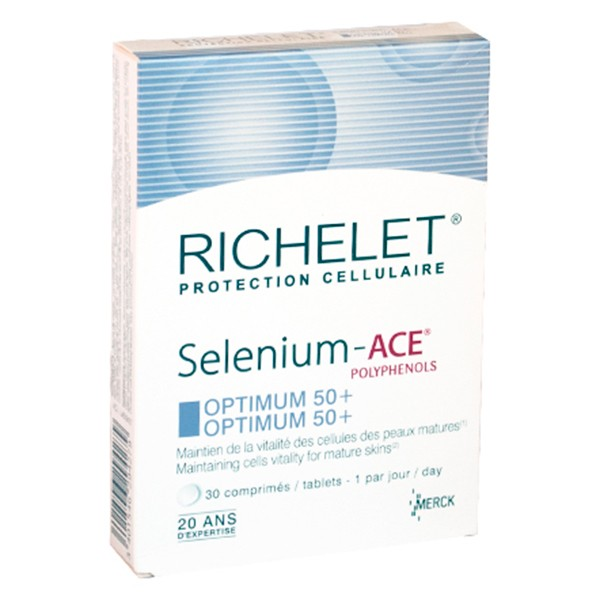 Prix de Richelet Anti-Age Selenium ACE Optimum 50+ 30