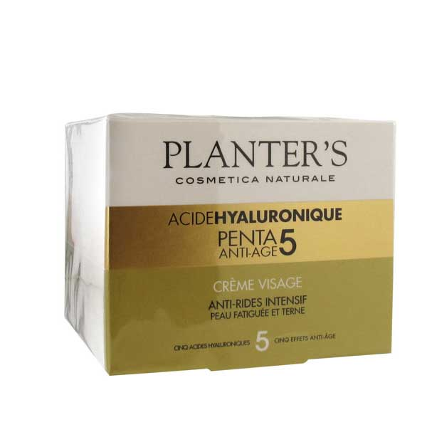 prix de planter 39 s acide hyaluronique penta 5 cr me visage 50ml. Black Bedroom Furniture Sets. Home Design Ideas