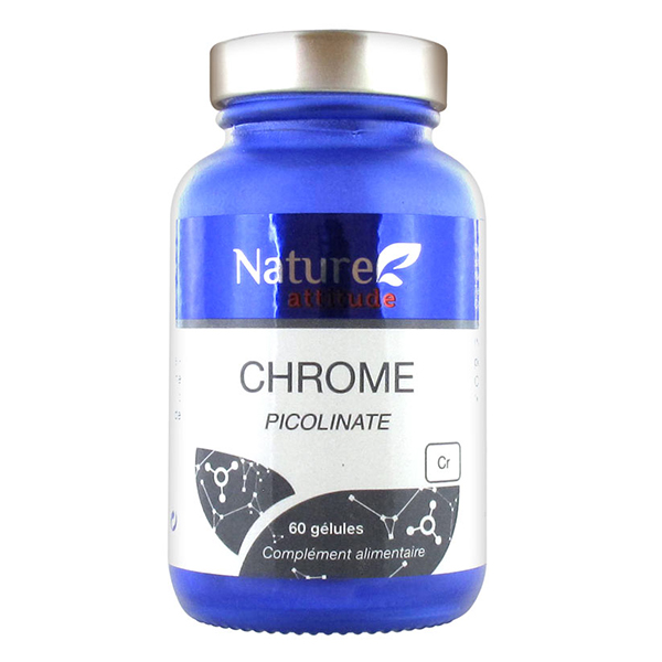 prix de nature attitude chrome picolinate 60 g lules. Black Bedroom Furniture Sets. Home Design Ideas