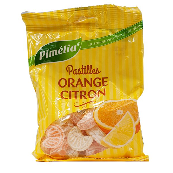 Prix de Pimelia Acidules Arome Orange Citron 110g