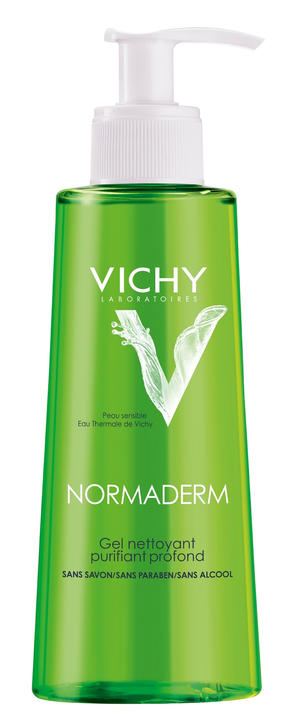 prix de vichy normaderm gel nettoyant flacon de 400ml. Black Bedroom Furniture Sets. Home Design Ideas