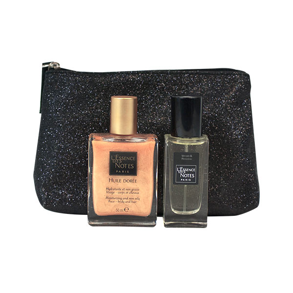 prix d 39 essence des notes eau de parfum v tiver patchouli 30ml huile dor e 50ml trousse offerte. Black Bedroom Furniture Sets. Home Design Ideas
